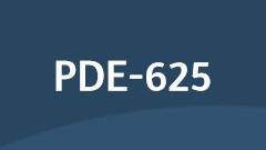 pde-625 course logo
